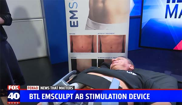 emsculpt demo fox 40 news